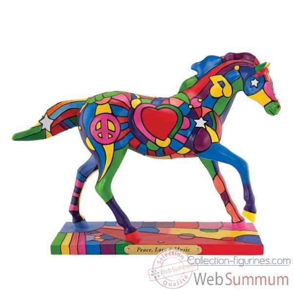 Peace, love and music  Painted Ponies -4025997