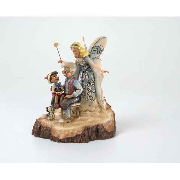 Wishing upon a star (pinocchio, blue fairy & jiminy cricket) n Figurines Disney Collection -4023575