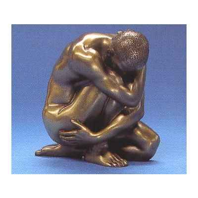 Figurine Bronze Homme Wrap Around Body Talk -WU72024