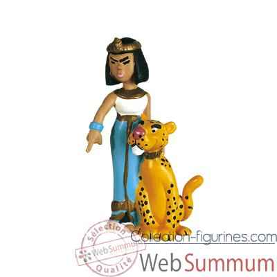 Video Figurine Cleopatre et sa panthere -60513