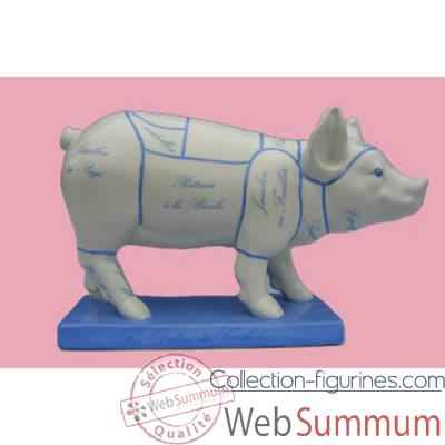 Figurine Cochon - Party Piggies - Les delices du cochon - PAP10