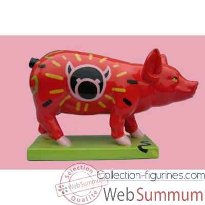 Video Figurine Cochon - Party Piggies - Piggy Pop - PAP14