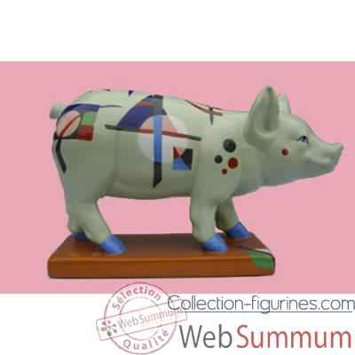 Figurine Cochon - Party Piggies - Pigginsky - PAP15