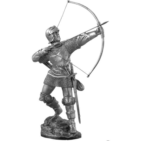 Figurines etains Archer anglais -MA038
