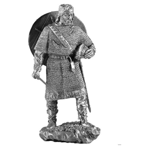 Figurines etains Chef viking -MA046