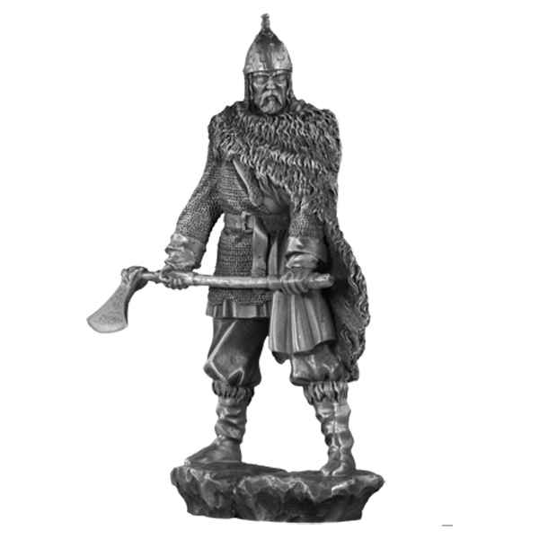 Figurines etains Chef de guerre viking -MA069