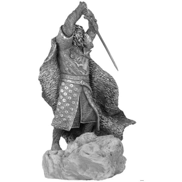 Figurines etains Uther pendragon -MA073