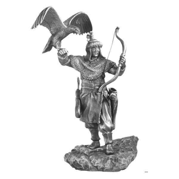 Video Figurines etains Archer mongol -MA083