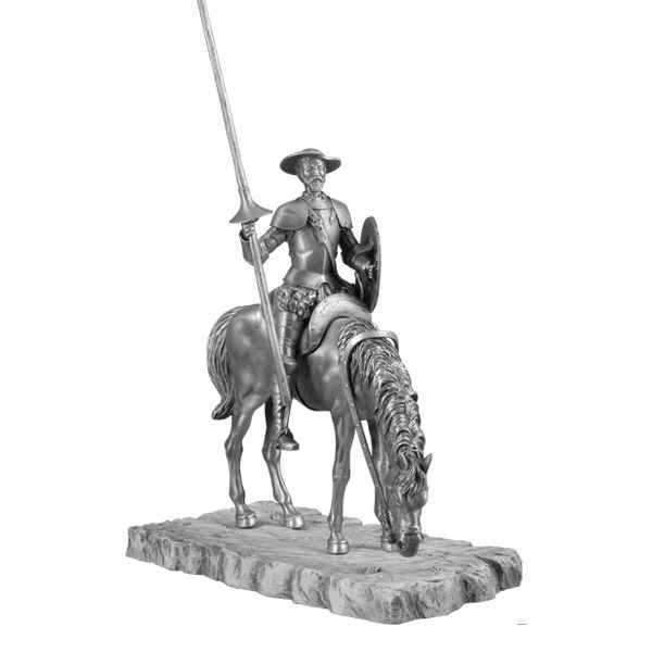 Figurines etains Don quichotte -MA084