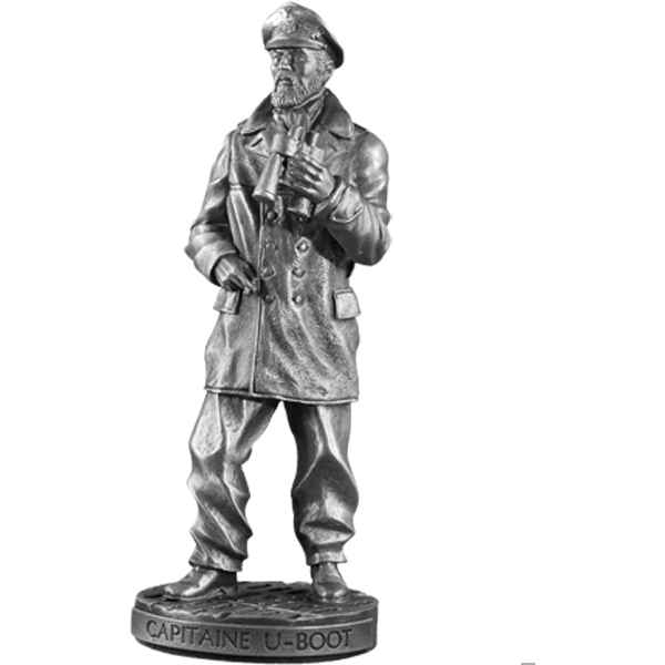 Figurines etains Capitaine u-boot -MI004
