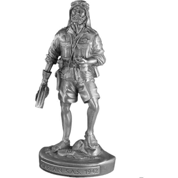 Figurines etains Capitaine sas -MI006