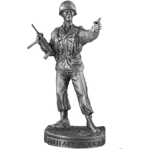 Figurines etains Military police -MI014