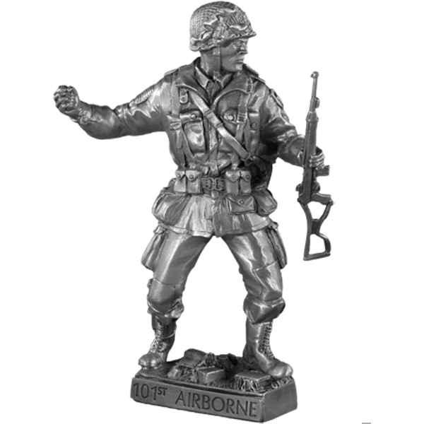 Figurines etains 101nd airborne -MI017