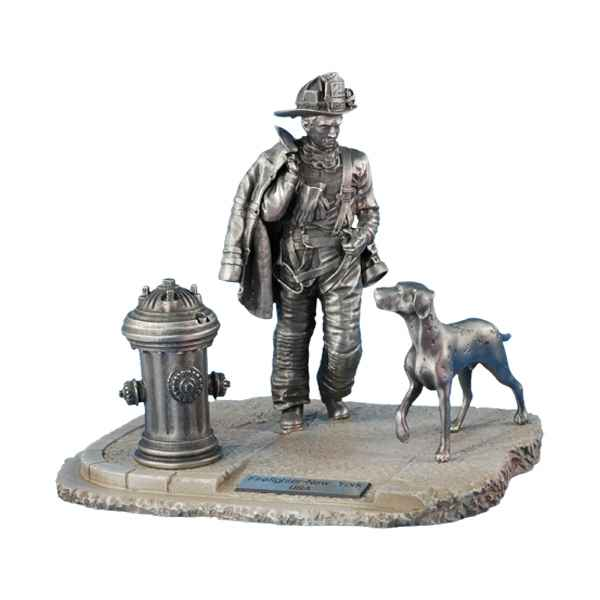 Figurines etains Firefighter n°21-USA -FW007