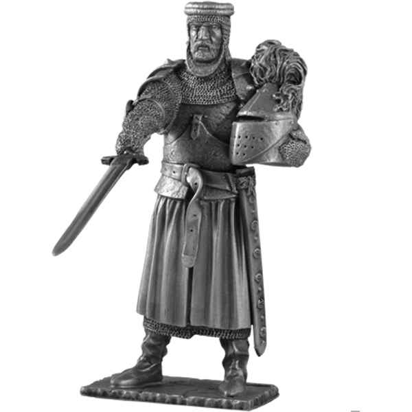 Figurines etains Chevalier de la table ronde Kay et siege -TR013