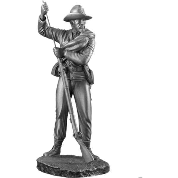 Figurines etains Capitaine d'infanterie texas -GS001