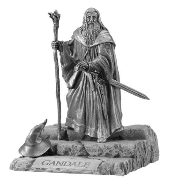 Figurines étains Gandalf -LR001