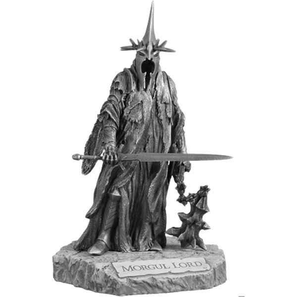 Video Figurines etains Roi sorcier -LR010