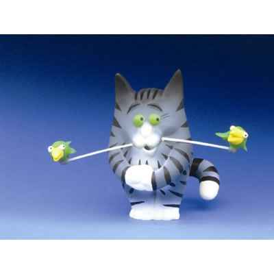 Figurine Chat - Felin pour l'autre - Charly Becfin - FF02