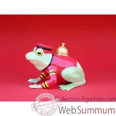Video Figurine Grenouille - Fanciful Frogs - Bellhop - 11901