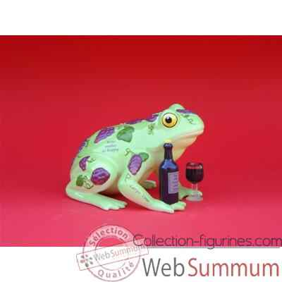 Figurine Grenouille - Fanciful Frogs - Wine Hoppy - 11935