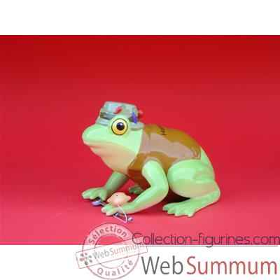 Figurine Grenouille - Fanciful Frogs - Hoppy Fishing - 11937