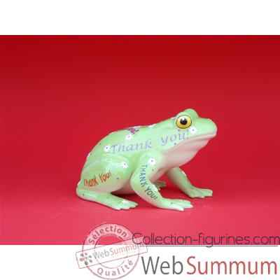 Figurine Grenouille - Fanciful Frogs - Tank-U-toad - 11959