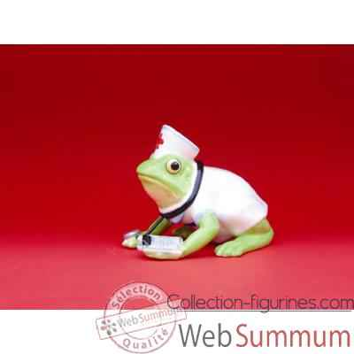 Figurine Grenouille - Fanciful Frogs - Nurse Ribbit - 11967