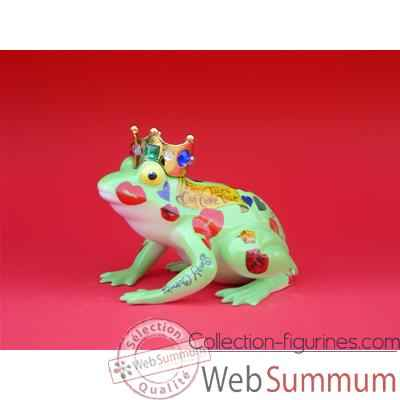 Figurine Grenouille - Fanciful Frogs - Prince - 6336