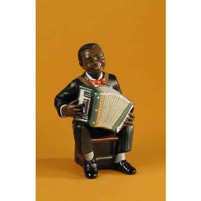 Figurine Jazz  L\'accordeoniste - 3177