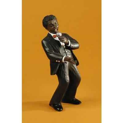 Figurine Jazz  Le chanteur - 3184