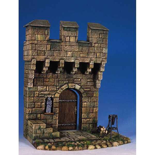 Figurine - Aile de chateau medieval - AS-001