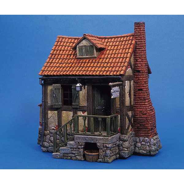 Figurine - Kit a peindre Maison de campagne - AS-007