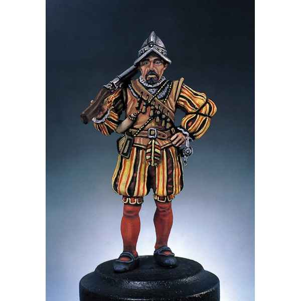 Figurine - Kit a peindre Arquebusier - S2-F3