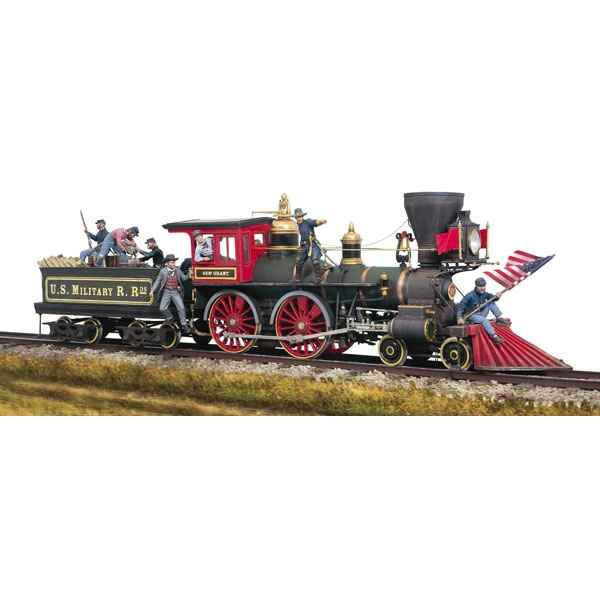 Figurine - Kit a peindre Ensemble Locomotive nord-americaine - SG-S10