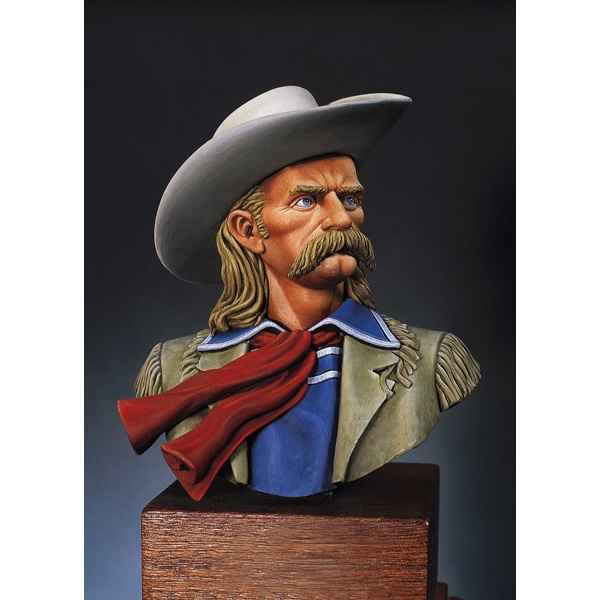 Video Figurine - Kit a peindre Buste  L. C. George A. Custer en 1873 - S9-B01