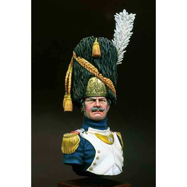 Figurines - Buste  Grenadier de la garde impériale  major - S9-B15