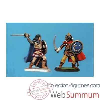 Video Figurine - Kit a peindre Prince et guerrier hun  - CA-021