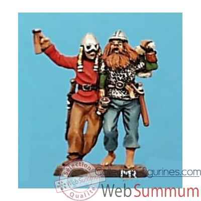 Video Figurine - Kit a peindre Fete de Vikings - CA-027