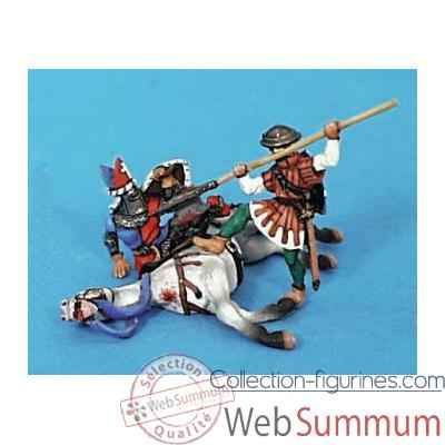 Video Figurine - Kit a peindre Chevalier desarconne - CA-036