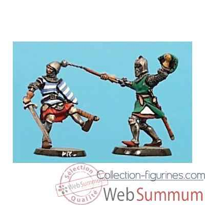 Video Figurine - Kit a peindre Combat de chevaliers 3  - CA-039