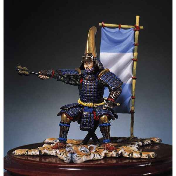 Figurine - Kit a peindre General samourai - SM-F14