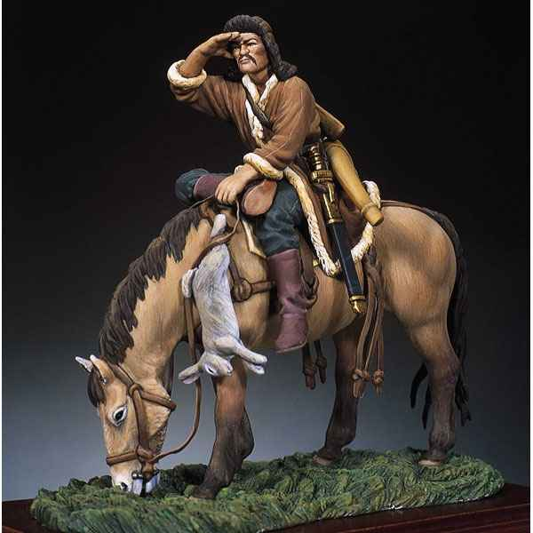 Video Figurine - Kit a peindre Archer hun a cheval en 450 - SM-F34