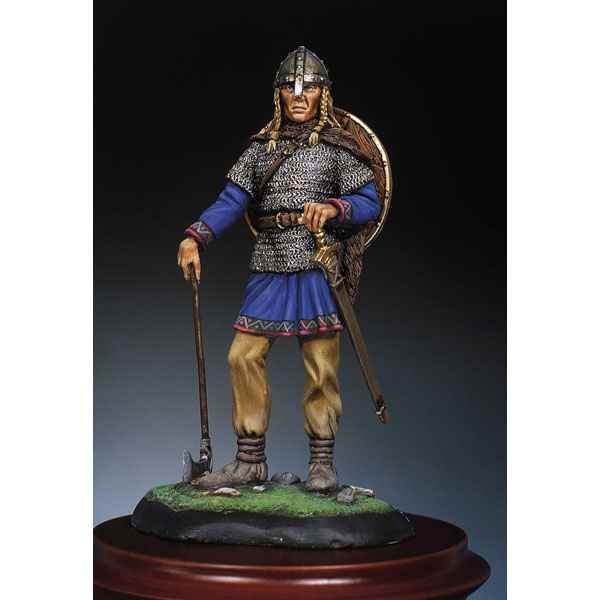 Figurine - Kit a peindre Guerrier viking  Norvege  X siecle - SM-F35