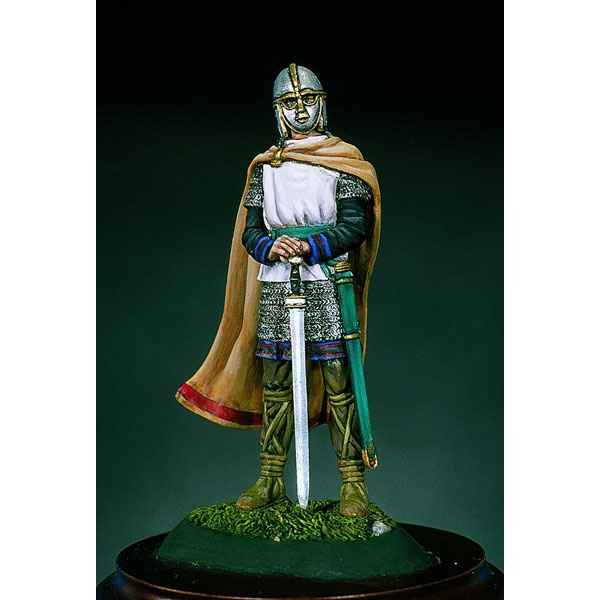 Video Figurine - Kit a peindre Guerrier saxon au VIe siecle - SM-F38