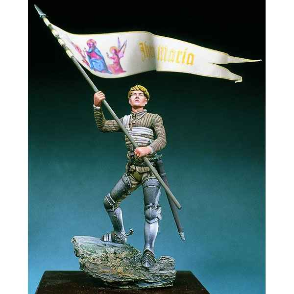 Video Figurine - Kit a peindre Jeanne d'Arc, Orleans en 1429 - SM-F41