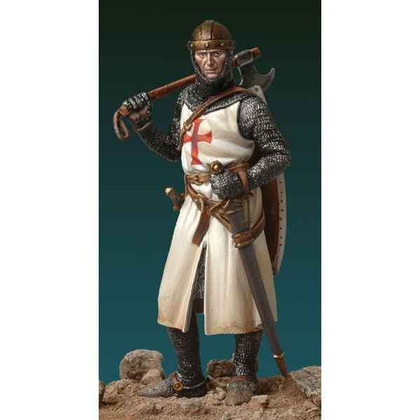 Figurine - Kit a peindre Chevalier Medieval, XIIIeme siecle - SM-F53