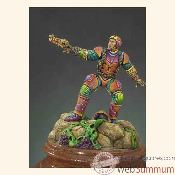 Figurine - Kit a peindre Galaxy Raider - F-004