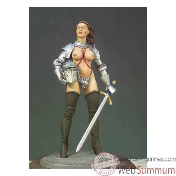 Figurine - Kit a peindre Guerriere - G-006