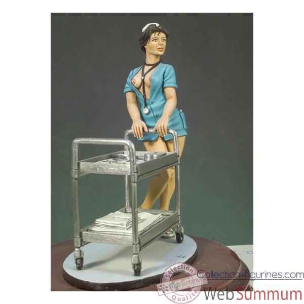 Figurine - Kit a peindre Infirmiere - G-010